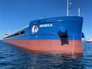 mv SENECA - Completed and ready for commercial operations